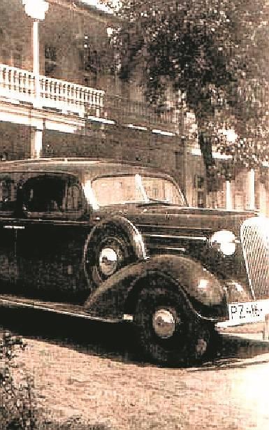 Rok 1936, chevrolet kupca Józefa Pilaczyńskiego.
