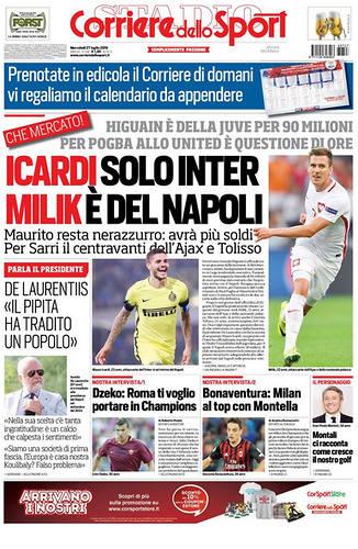 Włoska prasa potwierdza - będzie transfer Milika! Rekordowa suma