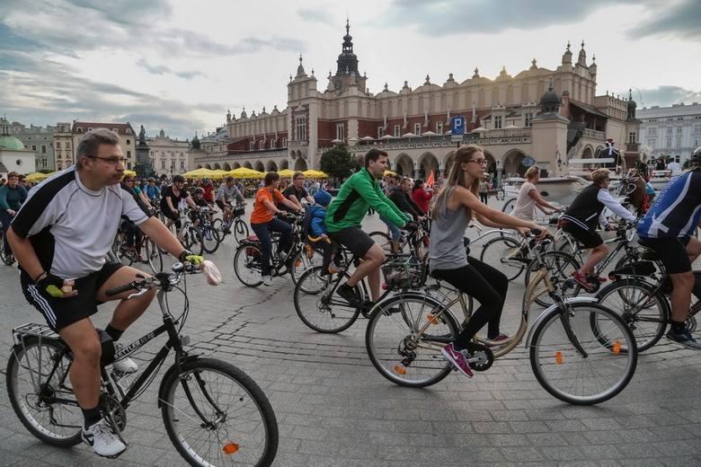 Kraków. Rowerowa masa krytyczna pojedzie mimo ŚDM