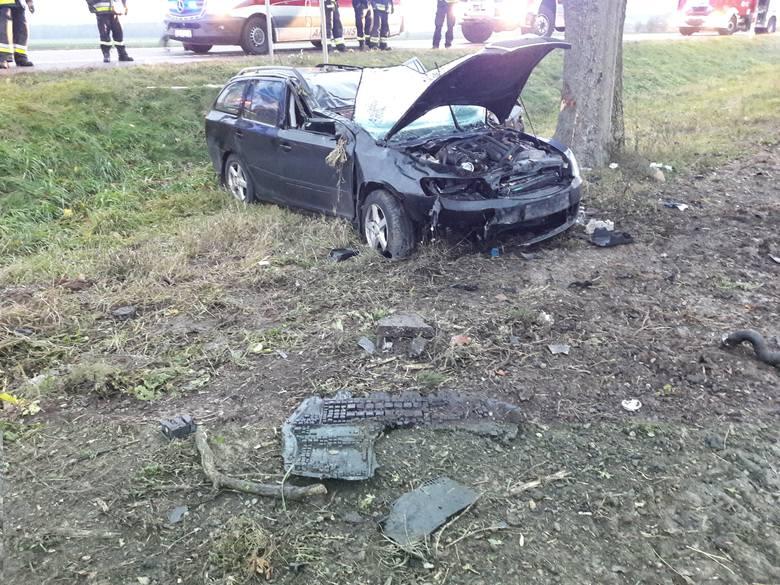 W sobotę, około godz. 7, na drodze krajowej nr 8 w pobliżu miejscowości Osowy Grąd doszło do wypadku.