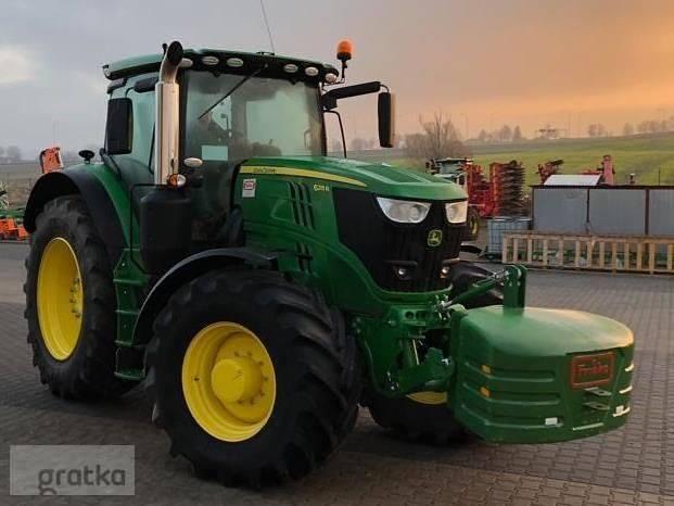 Ciągnik rolniczy John Deere 6215R687 570,00 złOFERTA