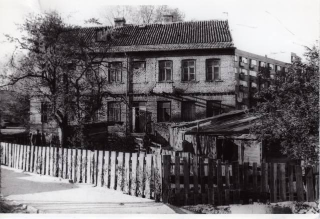 Okolice Rynku rybnego w czasach PRL-u