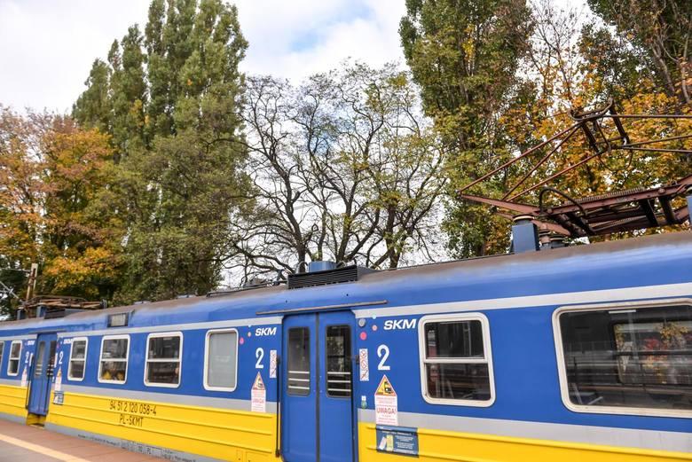 Śmiertelny wypadek na torach SKM w Gdyni we wtorek, 6.04.2021 r.