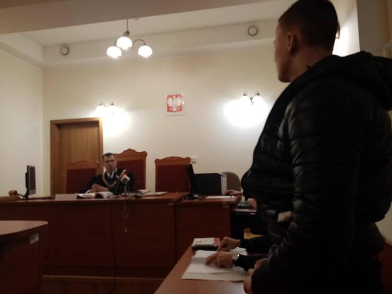 21-letni Adrian M. przed sądem