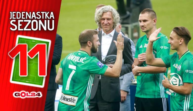 Polska defensywa i król Christian. Jedenastka sezonu PKO Ekstraklasy
