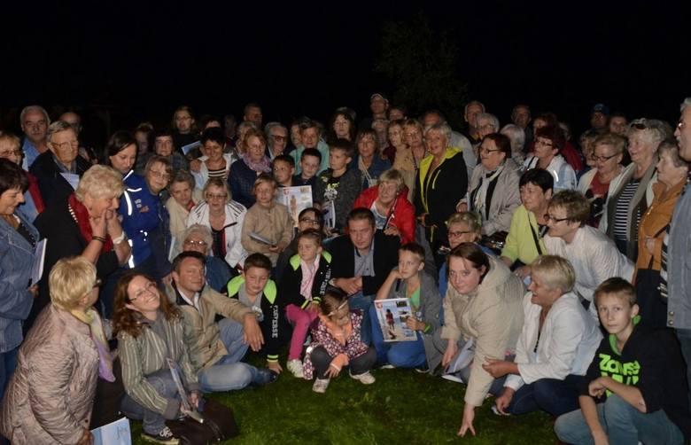 Zdjęcie uczestników ostatniej wycieczki. Kolejna już w najbliższy weekend.
