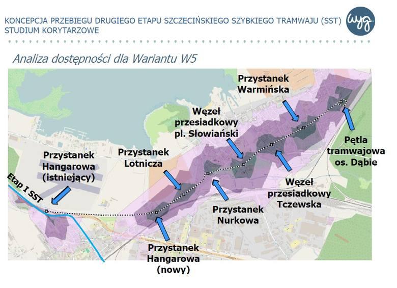 Którędy pojedziemy szybkim tramwajem? Jest siedem wariantów