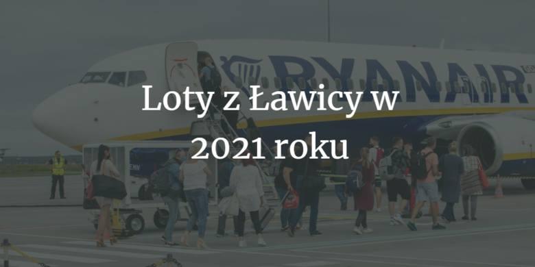 Oto lista miejsc, do których będziemy mogli latać latać bezpośrednio z Poznania w wakacje w 2021 roku. Tylko linia Ryanair oferuje aż 25 kierunków. Znajdą