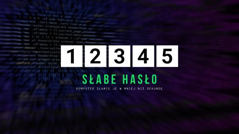 Ciąg kolejnych znaków na klawiaturze to jedno z najpopularniejszych w Polsce haseł - a zarazem jedno z najprostszych do złamania.