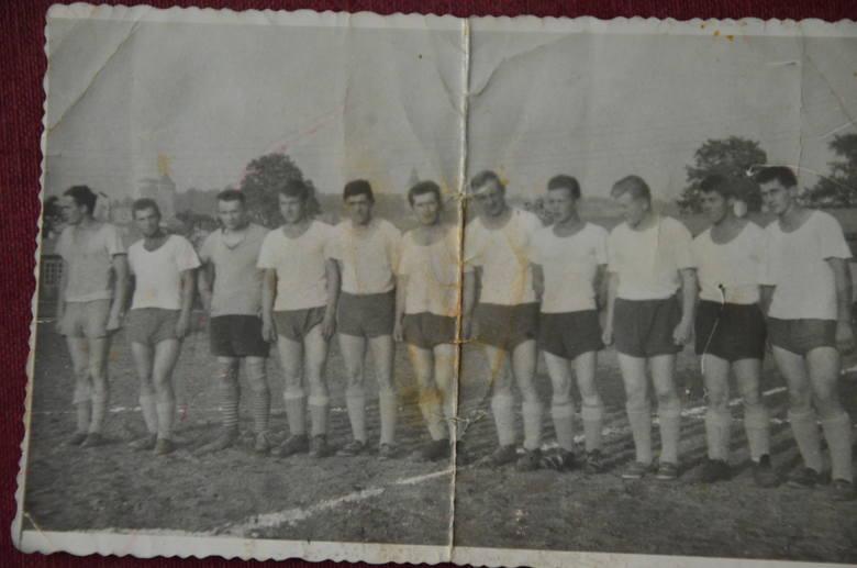 Resovia z lat 60-tych, trzeci od prawej Zbigniew Chwałka, tato Krzysztofa.
