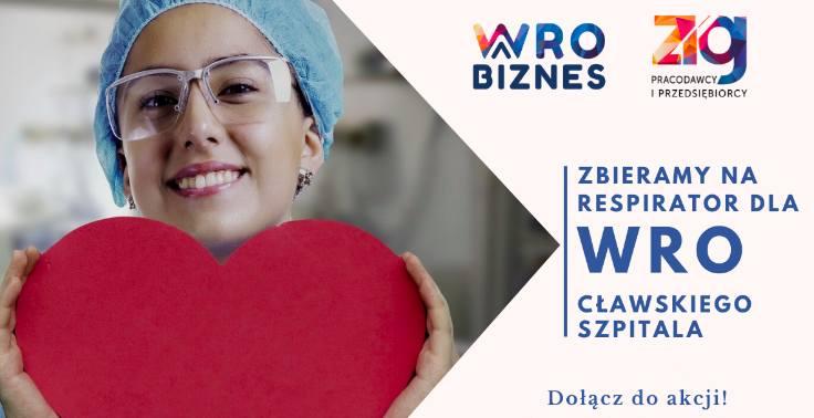 Zbiórka na zakup respiratora dla pacjentów 4. Wojskowego Szpitala Klinicznego z Polikliniką we Wrocławiu