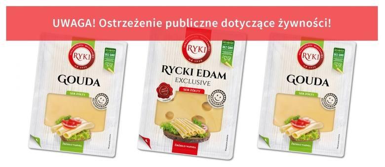 Główny Inspektorat Sanitarny opublikował komunikat o wycofaniu ze sprzedaży sera żółtego Gouda w plastrach wyprodukowanego przez Spółdzielnię Mleczarką