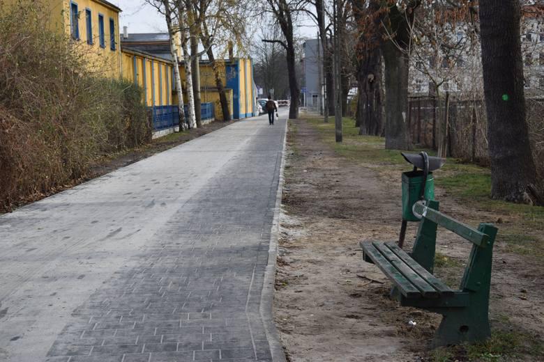 Aleja Wodna w Kluczborku