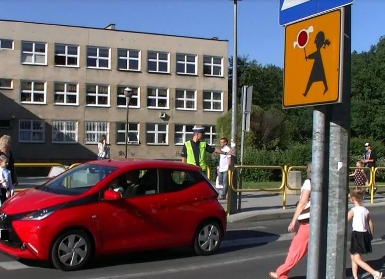 bezpieczna droga do szkoły, policja w zielonej górze