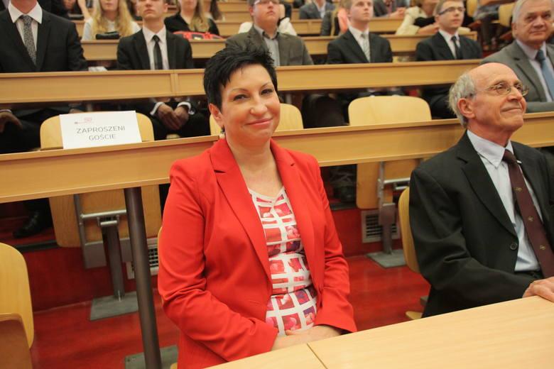 Prezydent Zgierza Iwona Wieczorek przed czterema laty ograła kontrkandydata w II turze.