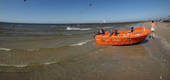 Na plaży w Świnoujściu utonął 45-letni mężczyzna