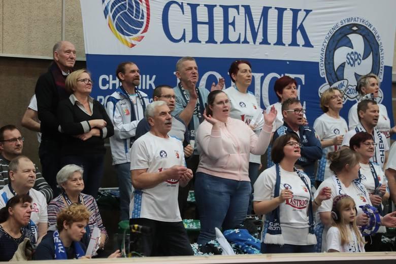 Kibice na meczu Chemika Police z Grot Budowlanymi Łódź [GALERIA]