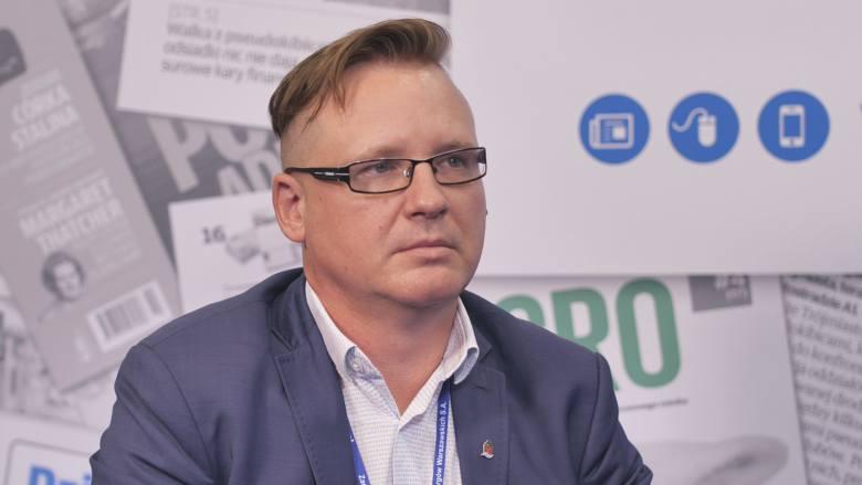 Arkadiusz Zgliński, dyrektor spółki Zarząd Portu Morskiego Elbląg