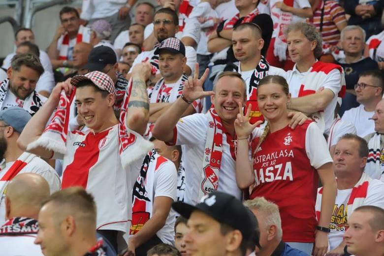 Kibice na meczu ŁKS - Lechia! Tak było na pierwszym meczu ekstraklasy przy al. Unii. GALERIA ZDJĘĆ