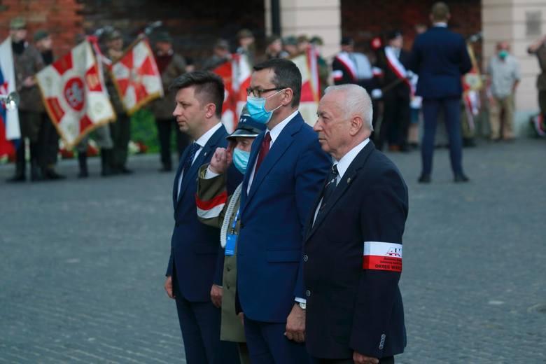 Warszawa, obchody 76. rocznicy Powstania Warszawskiego