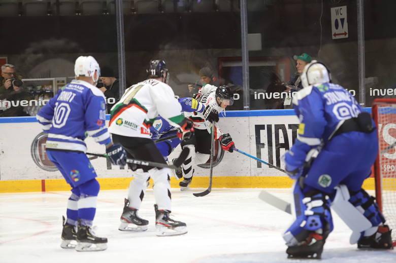GKS Tychy pokonał Re-Plast Unię Oświęcim 3:0 w meczu 42. kolejki Polska Hokej Liga