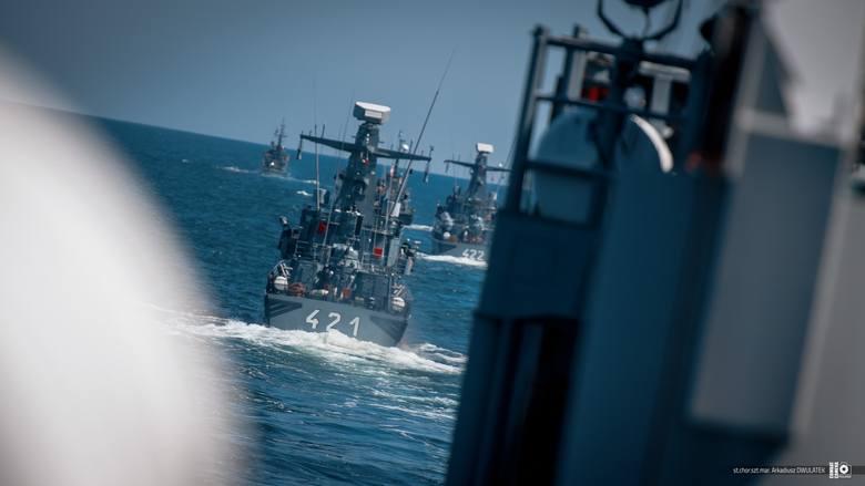 Marynarka Wojenna do udziału w ćwiczeniu Anakonda-20 wydzieliła kilkanaście okrętów i pomocniczych jednostek pływających z 3 Flotylli Okrętów w Gdyni