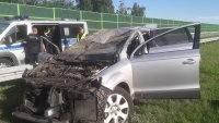 Śmierć kierowcy na A1 pod Łodzią. Sprawca uciekł. Był pod wpływem narkotyków i alkoholu?