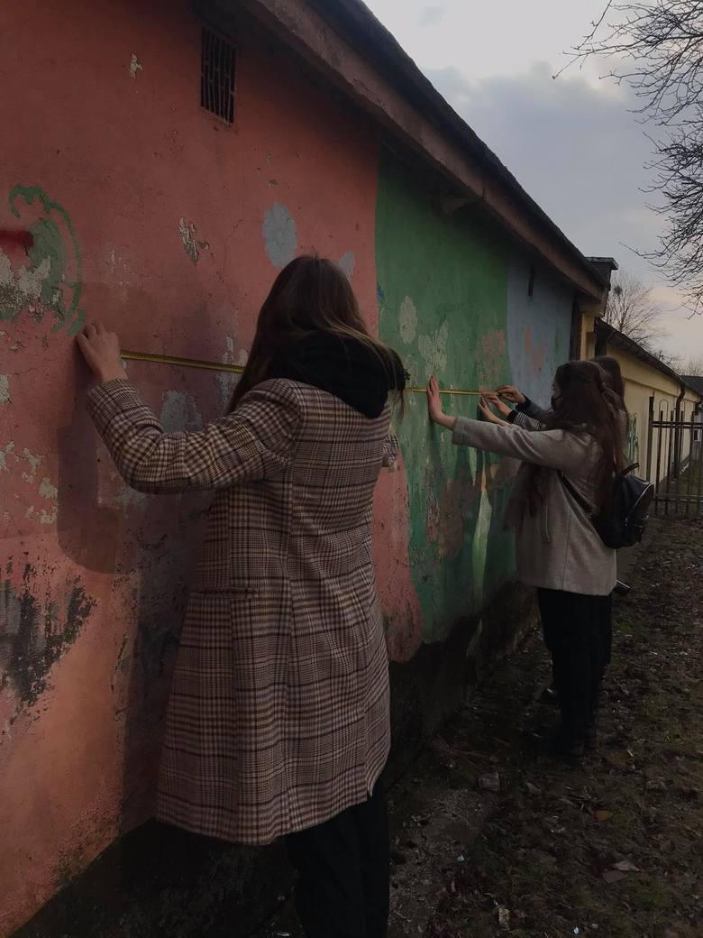 """Uczennice I LO w Toruniu, które realizują projekt """"Szare Mury"""""""