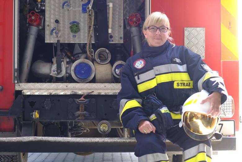 Kobieta z pasją: Monika Błaszczak ratuje ludzi z pożarów