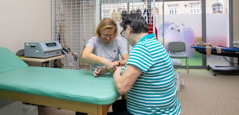 W DDOM pacjenci mają zapewnioną indywidualną rehabilitację