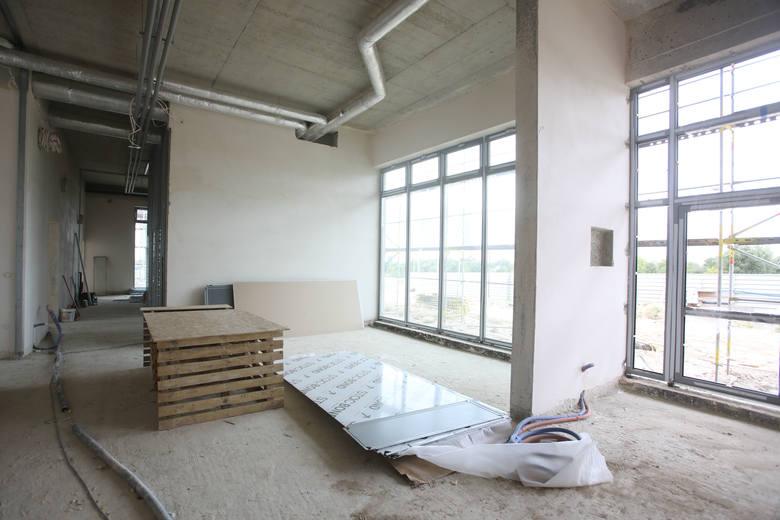 W strefie Dworzysko w Rzeszowie powstaje nowa remiza strażacka. Gotowa będzie w 2020 roku. Zobaczcie galerię zdjęć z budowy.