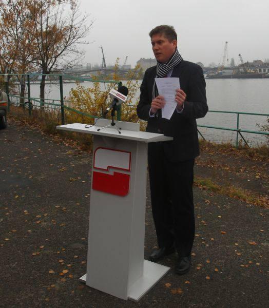 Zdaniem Wijasa, trzeba wykorzystać położenie Szczecina nad wodą.