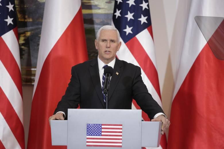 Wiceprezydent USA Mike Pence ostrzegł władze irańskie