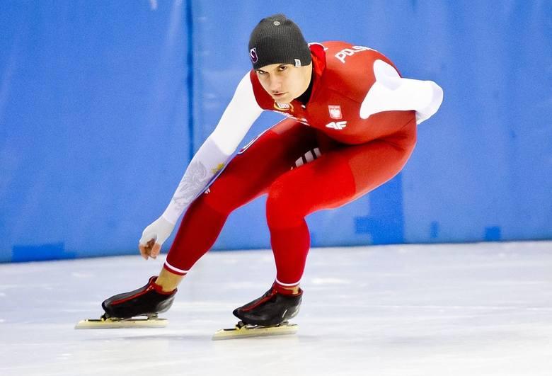 Piotr Michalski miesiąc temu sięgnął po tytuł mistrza Polski w wieloboju sprinterskim