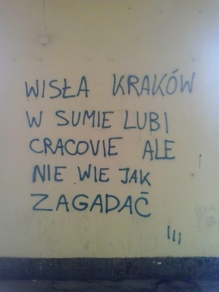 Swieta Wojna Na Murach Krakowska Wersja Slynnej Akcji Z Lodzi Zdjecia Gazeta Krakowska