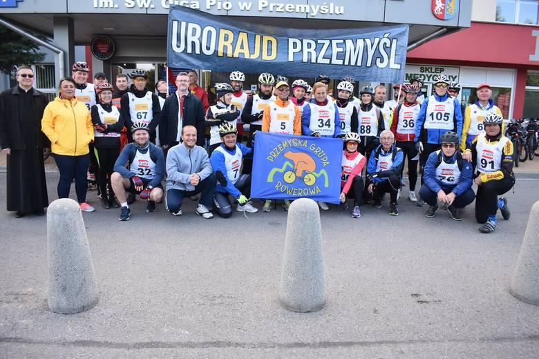 Oddział Urologii z Pododdziałem Urologii Onkologicznej wraz z Działem Promocji zorganizował III UroRajd – rajd rowerowy szlakiem północnym Twierdzy Przemyśl.