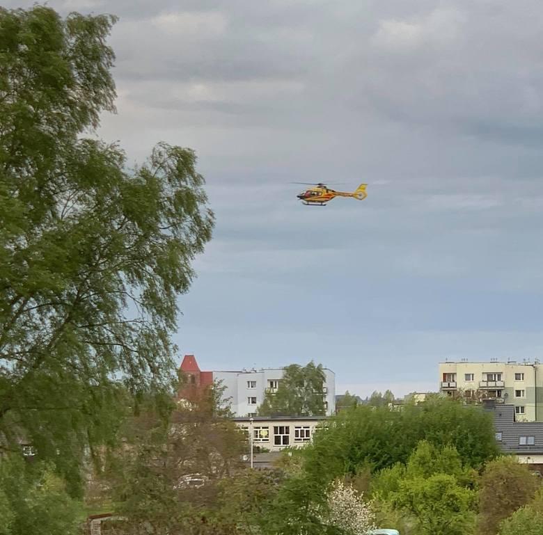 LPR lądował przy dworcu w Pucku - 16 maja 2020