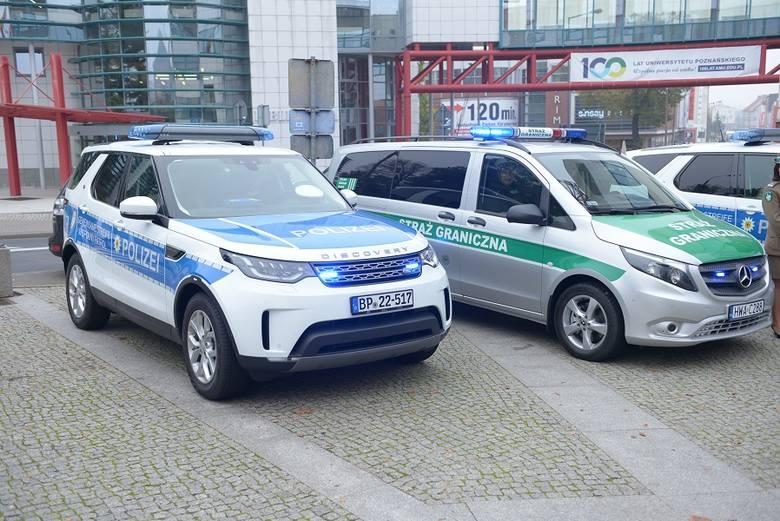 W czwartek, 24 października w Słubicach uroczyście przekazano do Wspólnych Polsko – Niemieckich Placówek w Świecku, Ludwigsdorf i Pomellen sześć nowych