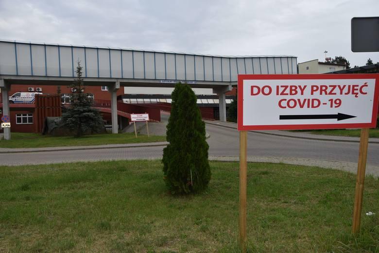 """Aktualna liczba pacjentów """"covidowych"""" w szpitalu w Grudziądzu: 300"""