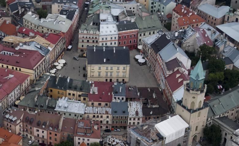 Zaskoczenia nie ma: według Sightsmap najchętniej fotografowany w Lublinie jest  Rynek. Na drugim miejscu jest plac Zamkowy, a na trzecim Brama Krako