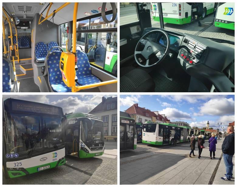 Białystok. Festyn na Rynku Kościuszki. Nowe autobusy Białostockiej Komunikacji Miejskiej były dostępne dla zwiedzających [ZDJĘCIA]