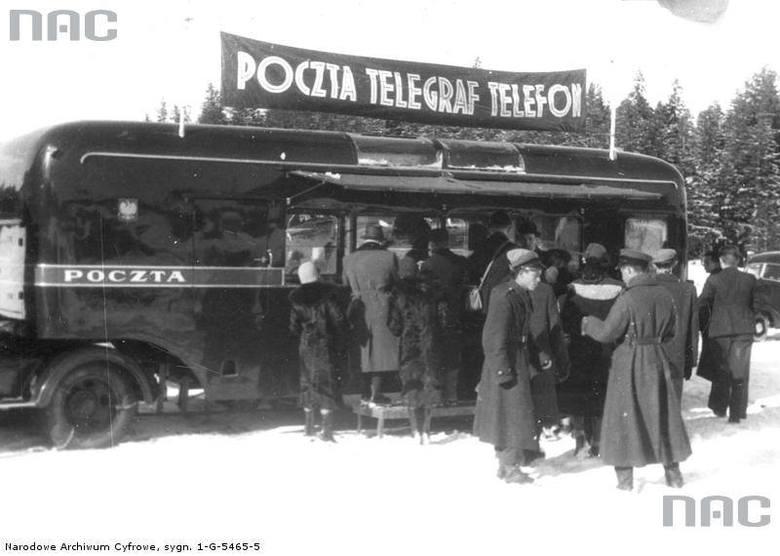 Ruchoma poczta w Zakopanem, 1939 rok