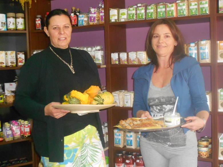 Postawiły na zdrową żywność. Nowy sklep eko w Białymstoku.Beata Bolesta (z lewej) i Krystyna Kabać postawiły na ekologię