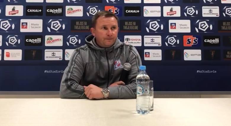 Krzysztof Brede o meczu Podbeskidzia z Pogonią Szczecin: Chcieliśmy zagrać tak jak zagraliśmy