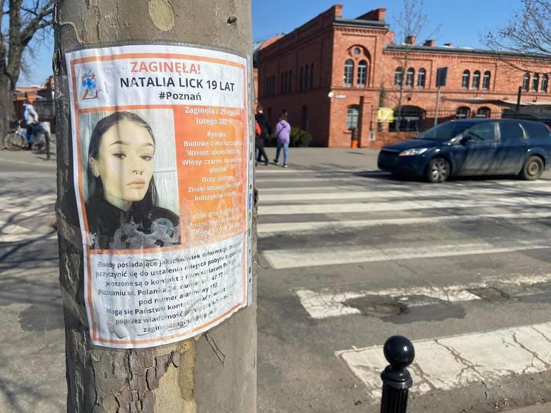 Natalia Lick zaginęła pod koniec lutego 2021 roku