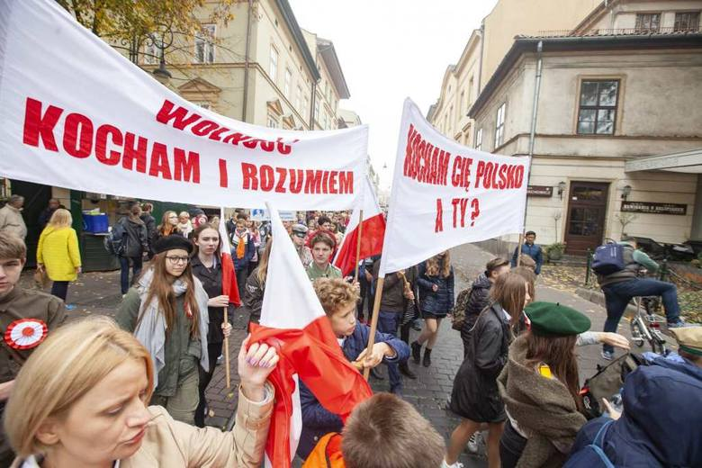 Tysiące uczniów zjechało do Krakowa [ZDJĘCIA]