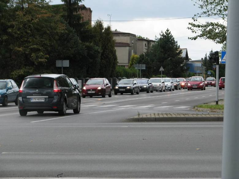 DK11 w Tarnowskich Górach