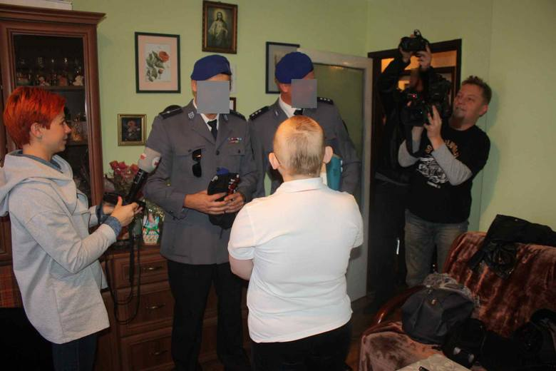 Policjanci z Kosowa dla Kuby Szlachcica zebrali pieniądze. Chłopiec z Zawiercia walczy z rakiem