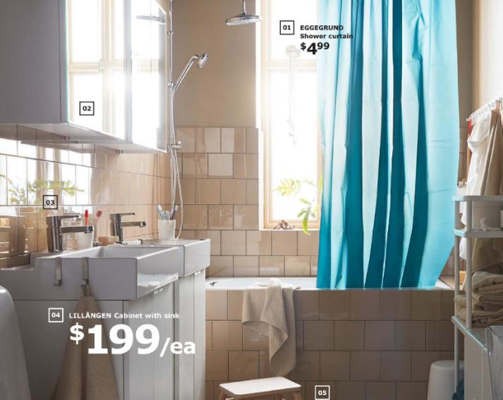 łazienka katalog IKEA 2019