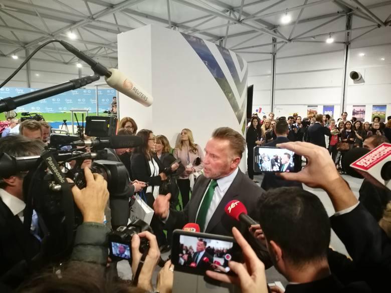 Mówiło się, że na COP24 do Katowic przyjedzie Leonardo Di Caprio i Bono, a tymczasem okazało się, że na szczycie klimatycznym ONZ w Katowicach pojawił